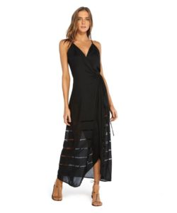 ViX Swimwear Sale: Black Grazi Beach Wedding Guest Dress