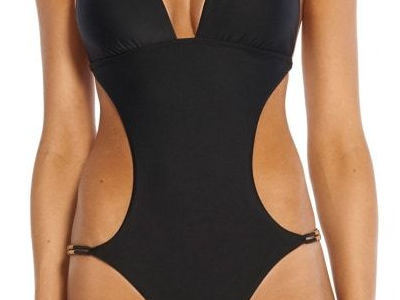 Swimsuit One Piece - ViX Swimwear Black Laura