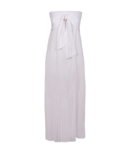 ViX Swimwear Sale Tess White Beach Dress for Wedding Guests