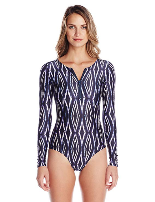 One Piece Long Sleeve Swimsuit Moorish Pamela by ViX Swimwear