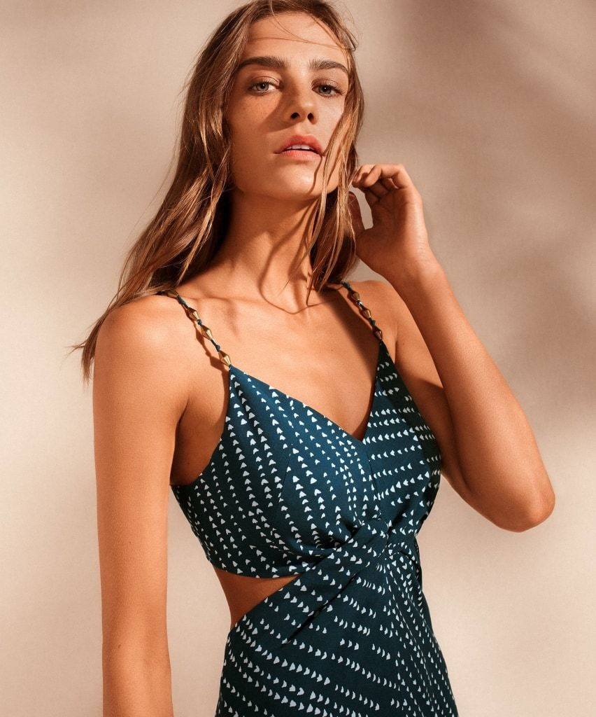 Ventana Ocean Cutout Long Dress by ViX Swimwear